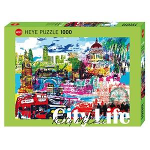 "Heye (29682) - Kitty McCall: ""I Love London!"" - 1000 pièces"