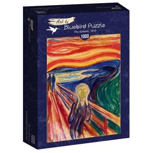 "Bluebird Puzzle (60058) - Edvard Munch: ""The Scream, 1910"" - 1000 pièces"