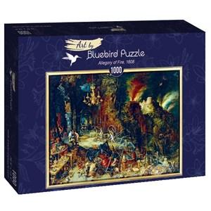 "Bluebird Puzzle (60091) - Pieter Brueghel the Elder: ""Allegory of Fire, 1608"" - 1000 pièces"