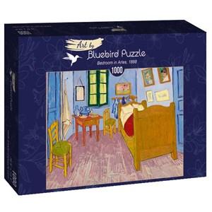 """Bluebird Puzzle (60004) - Vincent van Gogh: """"Bedroom in Arles, 1888"""" - 1000 pièces"""