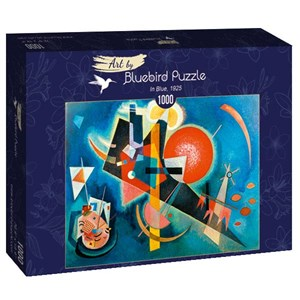 "Bluebird Puzzle (60021) - Vassily Kandinsky: ""In Blue, 1925"" - 1000 pièces"