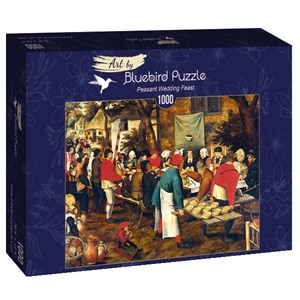 "Bluebird Puzzle (60025) - Brueghel le Jeune: ""Peasant Wedding Feast"" - 1000 pièces"
