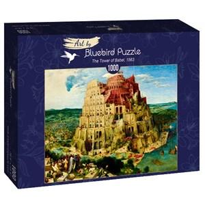 "Bluebird Puzzle (60027) - Pieter Brueghel the Elder: ""The Tower of Babel, 1563"" - 1000 pièces"