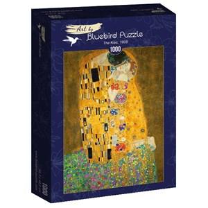 "Bluebird Puzzle (60015) - Gustav Klimt: ""The Kiss, 1908"" - 1000 pièces"