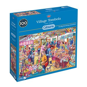 "Gibsons (g6254) - Tony Ryan: ""Village Tombola"" - 1000 pièces"