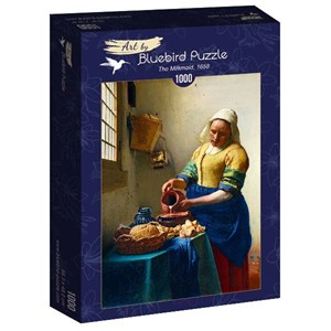 "Bluebird Puzzle (60066) - Johannes Vermeer: ""The Milkmaid, 1658"" - 1000 pièces"