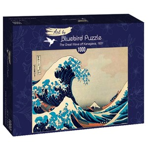 "Bluebird Puzzle (60045) - Hokusai: ""The Great Wave off Kanagawa, 1831"" - 1000 pièces"