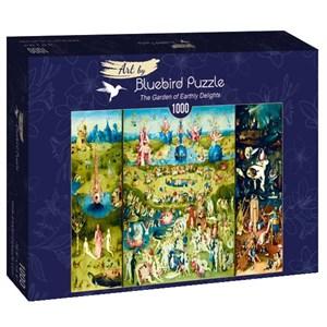 "Bluebird Puzzle (60059) - Hieronymus Bosch: ""The Garden of Earthly Delights"" - 1000 pièces"