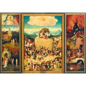 "Bluebird Puzzle (60060) - Hieronymus Bosch: ""The Haywain Triptych"" - 1000 pièces"