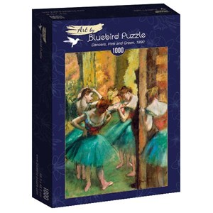 """Bluebird Puzzle (60047) - Edgar Degas: """"Dancers, Pink and Green, 1890"""" - 1000 pièces"""