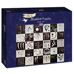 "Bluebird Puzzle (60051) - Vassily Kandinsky: ""Trente, 1937"" - 1000 pièces"
