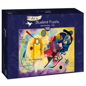"Bluebird Puzzle (60036) - Vassily Kandinsky: ""Gelb-Rot-Blau, 1925"" - 1000 pièces"