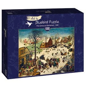 """Bluebird Puzzle (60026) - Pieter Brueghel the Elder: """"The Census at Bethlehem, 1566"""" - 1000 pièces"""