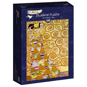 "Bluebird Puzzle (60017) - Gustav Klimt: ""The Waiting, 1905"" - 1000 pièces"