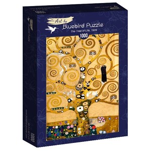 "Bluebird Puzzle (60018) - Gustav Klimt: ""The Tree of Life, 1909"" - 1000 pièces"