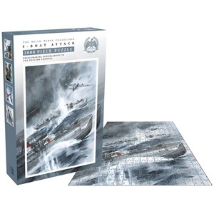 "Zee Puzzle (26237) - Keith Burns: ""S-Boat Attack"" - 1000 pièces"