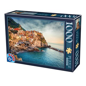 """D-Toys (75956) - """"Manarola Cinque Terre"""" - 1000 pièces"""