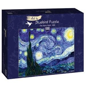 "Bluebird Puzzle (60001) - Vincent van Gogh: ""The Starry Night, 1889"" - 1000 pièces"