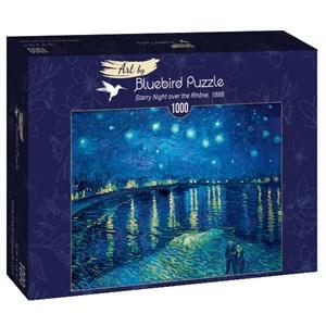 "Bluebird Puzzle (60002) - Vincent van Gogh: ""Starry Night over the Rhône, 1888"" - 1000 pièces"