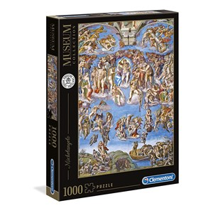 "Clementoni (39497) - Michelangelo: ""The last Judgement"" - 1000 pièces"