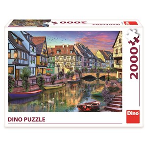 """Dino (56123) - """"Romantic Early Evening"""" - 2000 pièces"""