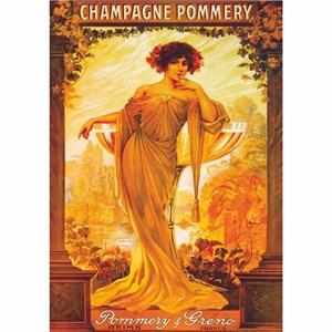 "D-Toys (69474) - ""Vintage Posters, Champagne Pommery"" - 1000 pièces"