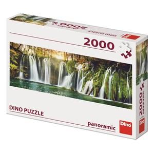 "Dino (56208) - ""Plitvice Waterfalls"" - 2000 pièces"