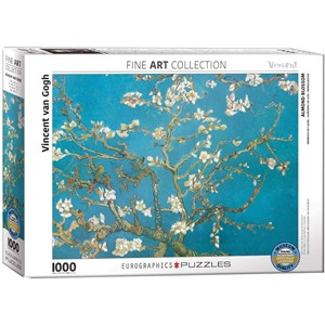 """Eurographics (6000-0153) - Vincent van Gogh: """"Almond Branches in Bloom"""" - 1000 pièces"""