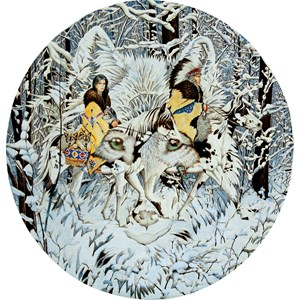 """SunsOut (43001) - Diana Casey: """"Keeper of the Wolf"""" - 1000 pièces"""