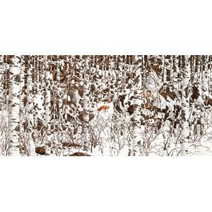 """SunsOut (74415) - Bev Doolittle: """"Woodland Encounter"""" - 1000 pièces"""