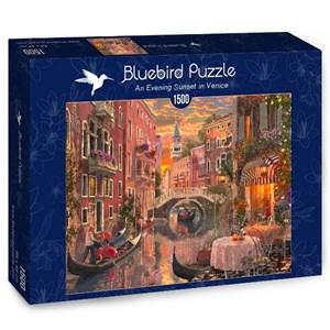 "Bluebird Puzzle (70115) - ""An Evening Sunset in Venice"" - 1500 pièces"