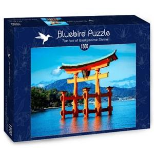"Bluebird Puzzle (70009) - ""The torii of Itsukushima Shrine"" - 1500 pièces"