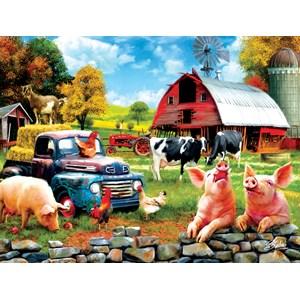 """SunsOut (42063) - Sharon Steele: """"Farm Days"""" - 1000 pièces"""