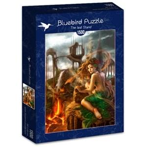 "Bluebird Puzzle (70429) - Cris Ortega: ""The last Stand"" - 1500 pièces"