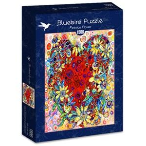 "Bluebird Puzzle (70431) - Sally Rich: ""Passion Flower"" - 1500 pièces"