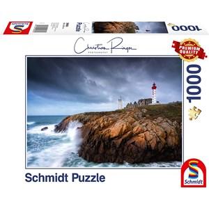 """Schmidt Spiele (59693) - Christian Ringer: """"St. Mathieu"""" - 1000 pièces"""