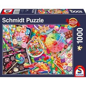 """Schmidt Spiele (58961) - """"Candylicious"""" - 1000 pièces"""