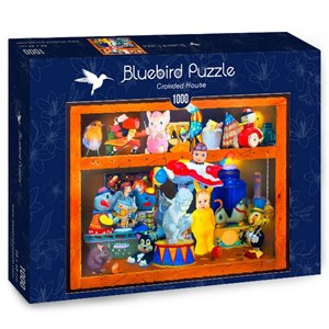 "Bluebird Puzzle (70421) - Gabriel Gressie: ""Crowded House"" - 1000 pièces"