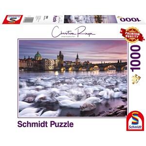 """Schmidt Spiele (59695) - Christian Ringer: """"Prague"""" - 1000 pièces"""