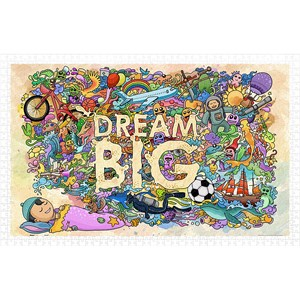 """Pintoo (h1671) - """"Dream Big"""" - 1000 pièces"""