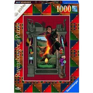 "Ravensburger (16518) - ""Harry Potter and the Trimagical Tournament"" - 1000 pièces"