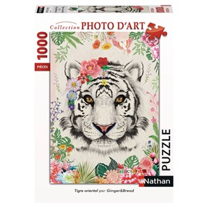 "Nathan (87635) - ""Oriental Tiger"" - 1000 pièces"