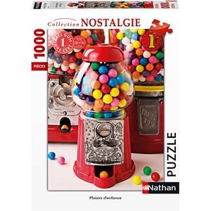 """Nathan (87636) - """"Plaisirs d'Enfance"""" - 1000 pièces"""