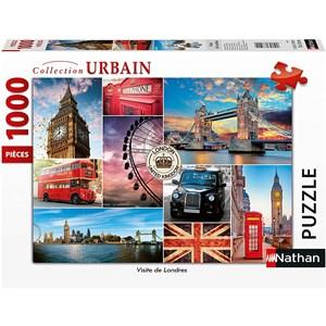"Nathan (87632) - ""London"" - 1000 pièces"