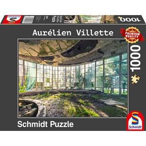"""Schmidt Spiele (59680) - Aurelien Villette: """"Old Coffee Shop"""" - 1000 pièces"""