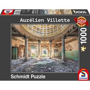 """Schmidt Spiele (59681) - Aurelien Villette: """"Sanatorium"""" - 1000 pièces"""