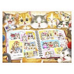 "Pintoo (h2051) - Kayomi Harai: ""Kitten Memory Album"" - 1200 pièces"
