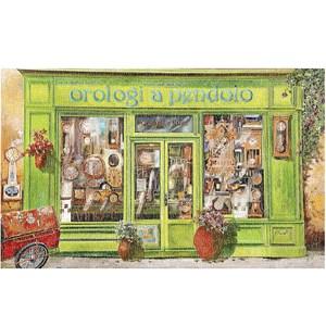 """Pintoo (h1999) - Guido Borelli: """"Clock Shop"""" - 1000 pièces"""