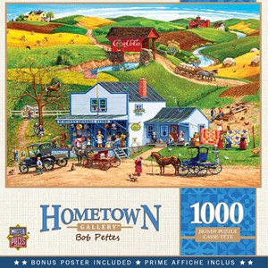"""MasterPieces (72027) - Bob Pettes: """"McGiverny's Country Store"""" - 1000 pièces"""