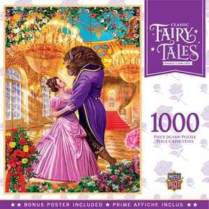 """MasterPieces (72017) - """"Beauty and the Beast"""" - 1000 pièces"""